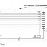 Дизайн Радиатор Irsap Tesi Bench